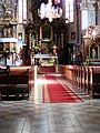 Kościół ewangelicki, ob. rzym.-kat. par. pw. Świętych Piotra i Pawła, wnętrze (2).JPG