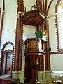 Kościół ewangelicko-augsburski . Widok ambony kościoła. - panoramio.jpg