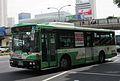 Kobe City Bus 494 at Sannomiya Station.JPG