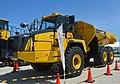 Komatsu Works dump truck HM400,Hitachinaka city,Japan.jpg