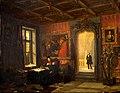 Koning Willem II in zijn werkkamer.jpg