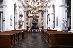 Visitationist Church - Interior