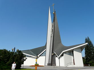 Břeclav - Modern St. Wenceslas Church