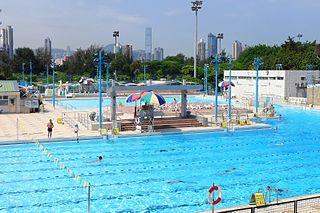 Kowloon Tsai Swimming Pool Swimming pool in Kowloon, Hong Kong
