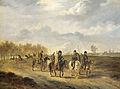 Kozakken op een landweg bij Bergen in Noord-Holland, 1813 Rijksmuseum SK-A-4067.jpeg