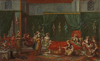 Lying-in Room of a Distinguished Turkish Woman