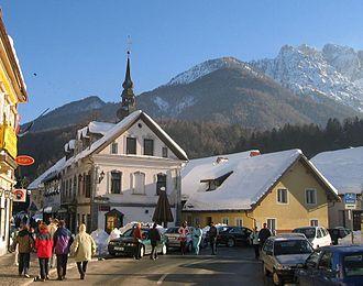 Kranjska Gora Ski Resort - Image: Kranjska Gora centrocitta