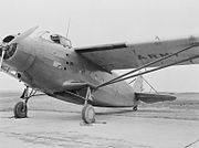 Kreider-Reisner XC-31 at NASA Langley March 1943