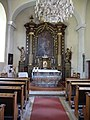 Kremsmünster Kirche Hl Johannes innen.JPG