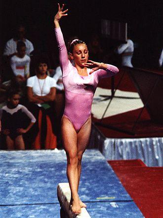 Kristal Uzelac - Kristal Uzelac on her way to a third straight U.S. Junior National Championship, August, 2001, Philadelphia, Pennsylvania, USA.