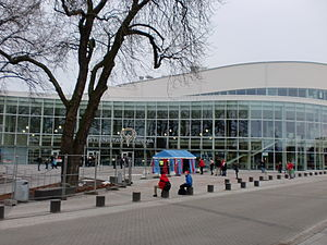 2016 European Women's Handball Championship - Image: Kristianstad Arena in 2011