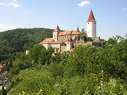 Krivoklat castle Czech Republic.JPG