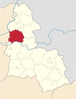 Shostka Raion Subdivision of Sumy Oblast, Ukraine