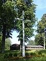 Krucifikss pie Ludvikovas Sv. Agates Romas katoļu baznīcas, Skaistas pagasts, Krāslavas novads, Latvia - panoramio.jpg