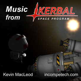 Обложка альбома Кевина Маклауда «Music from Kerbal Space Program» ()