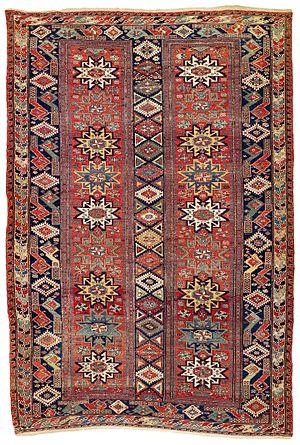 Caucasian carpets and rugs - Image: Kuba or Daghestan sumakh