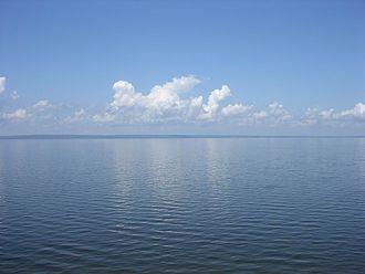 Kuybyshev Reservoir - near Ulyanovsk