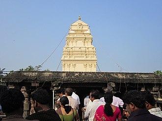 Kumararama - Image: Kumararama Bhimesvara temple,first floor,gopuram,samalk ota
