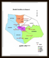Kumasi Metropolis (KMA) Health Facilities Map.png
