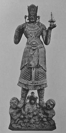 兜跋毘沙門天像(教王護国寺) 兜跋毘沙門天(とばつ びしゃもんてん)は仏教の護法善神である天部の