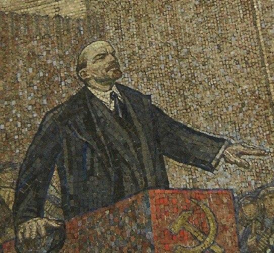 Lénine mosaïque