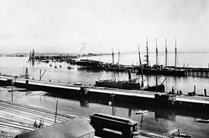 Port of Los Angeles - Image: LA Harbor 1899