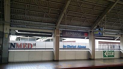 Paano pumunta sa Bambang Lrt gamit ang pampublikong transportasyon - Tungkol sa lugar