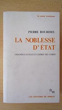 La Noblesse d'État cover