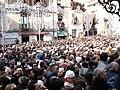 La folla alla festa di San Sebastiano, Piazza Lionardo Vico, Acireale.jpg