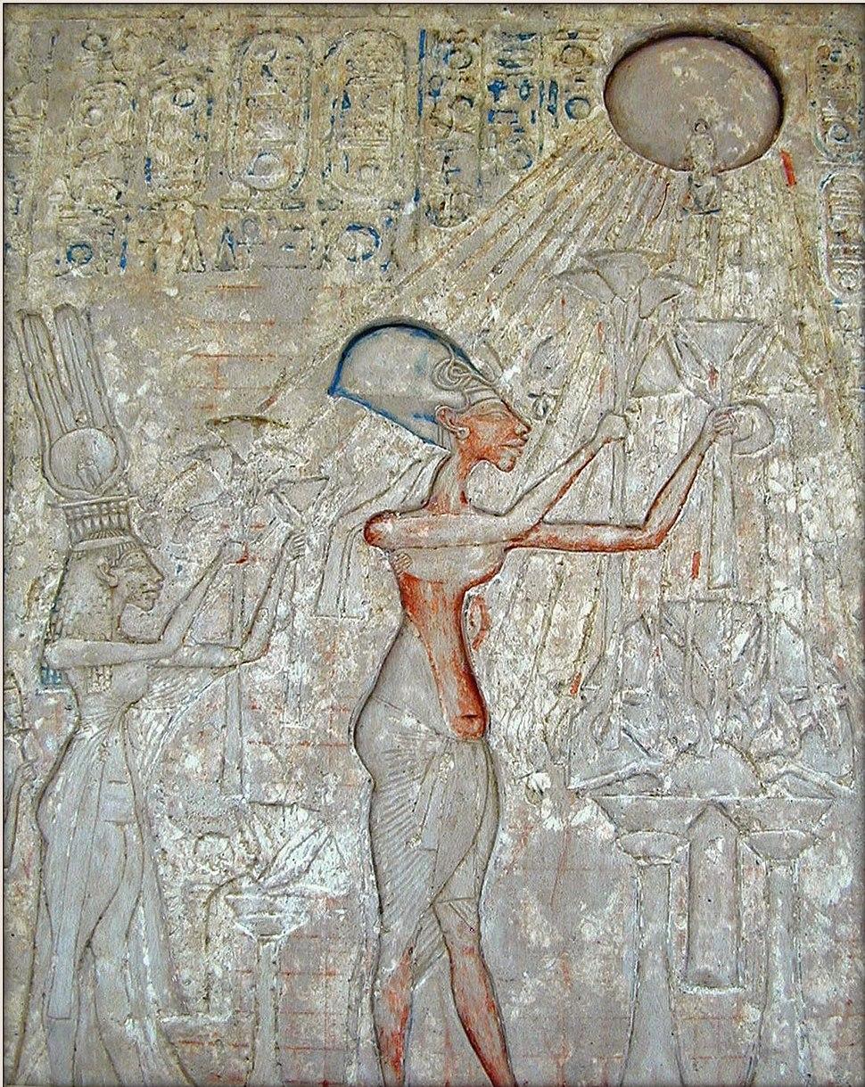 La salle dAkhenaton (1356-1340 av J.C.) (Mus%C3%A9e du Caire) (2076972086)