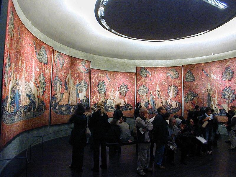 Goblen i tapiserija  800px-Lady_and_the_Unicorn_1