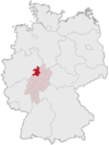 Lage des Landkreises Waldeck-Frankenberg in Deutschland.PNG