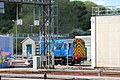 Laira - GWR 08644 behind the HST shed.JPG
