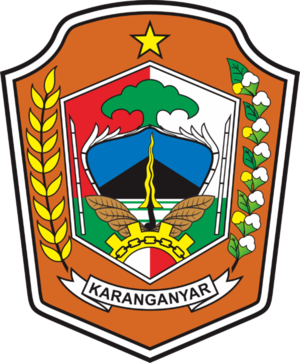 Karanganyar Regency - Image: Lambang Kabupaten Karanganyar