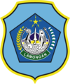 Official seal of Lamongan Regency