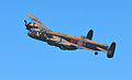 Lancaster bomber over Cowes in May 2013 4.jpg