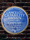 Lancelot 'Capability' BROWN 1716-1783 Landscape Architect lived here 1764-1783.jpg