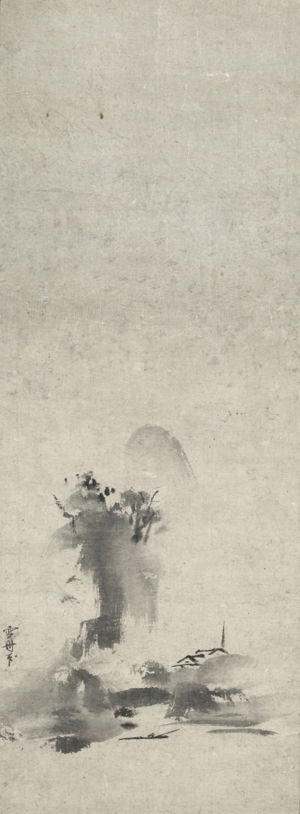 Haboku sansui - Image: Landscape by Sesshu (Cleveland)