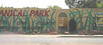Southern Nevada Zoological-Botanical Park - Exterior of the park