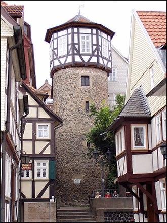 Lauterbach, Hesse - Image: Lat Ankerturm