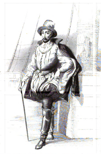 René Goulaine de Laudonnière - Laudonnière, as depicted in 1846