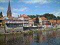 Lauenburg Altstadt vom Wasser aus gesehen - panoramio - Arnold Schott (1).jpg