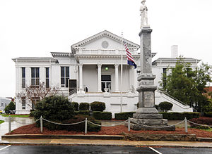 Laurens County Courthouse in February 2012