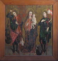 Madonna and Child with St. Michael and St. Gangolph