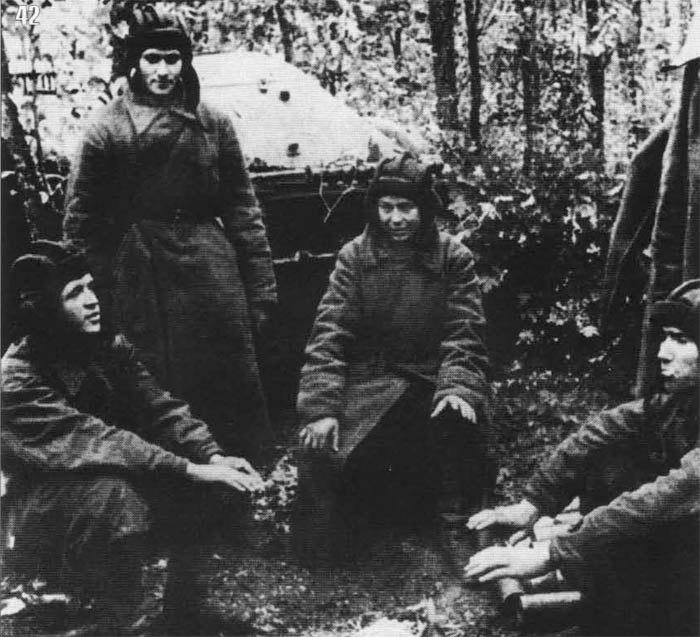 Lavrinenko tank crew, 1941