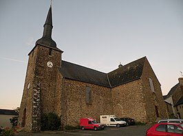 Kerk in Le Bourgneuf-la-Forêt