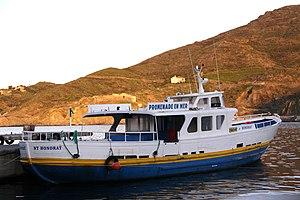 """Le bateau de promenade en mer """"St Honorat"""" (3).JPG"""