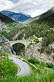 Le pont d'Asfeld à Briançon dans son environnement.jpg