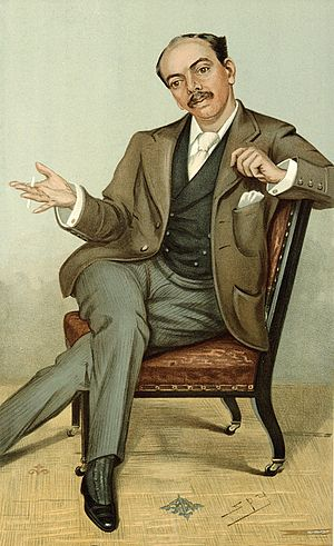 Leander Starr Jameson - Caricature of Jameson from 1896 issue of Vanity Fair.