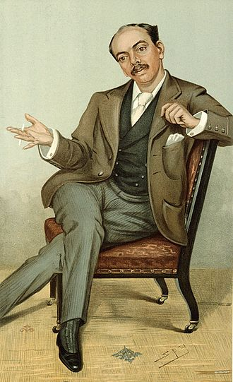 Leander Starr Jameson - Caricature of Jameson from 1896 issue of Vanity Fair
